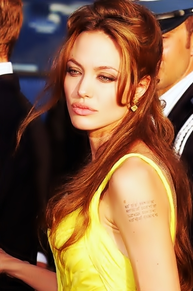 Jolie at the 2007 Cannes Film Festival.