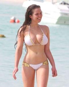 HELEN FLANAGAN in Bikini