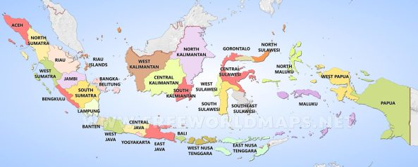 indonesia-provinces-map