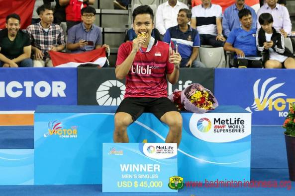 2. Anthony Sinisuka Ginting