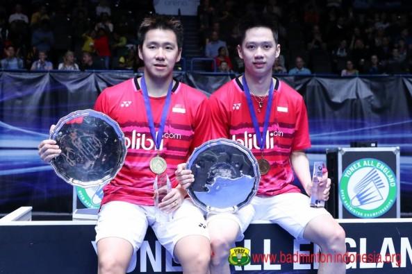 3. Marcus Fernaldi Gideon dan Kevin Sanjaya Sukamuljo