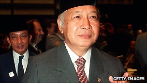 Former President Suharto died in 2008. He led Indonesia for 32 years until 1998