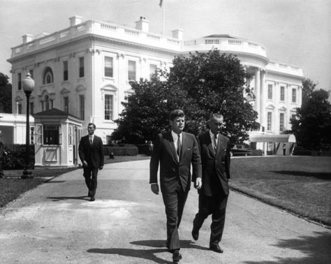 Pres. Kennedy and Vice Pres. Johnson