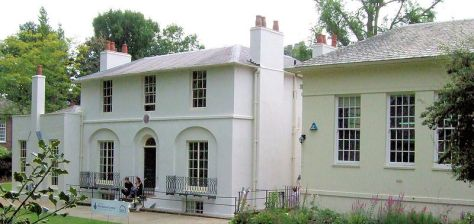 Keats House, where Keats wrote his Ode to a Nightingale. The village of Hampstead has historically been a literary centre in London.