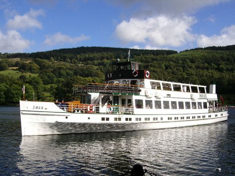 The MV Swan on Windermere