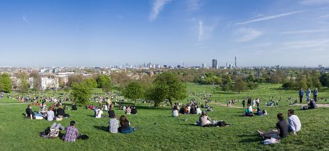 Primrose Hill Panorama, London - April 2011