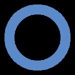 Lingkaran biru, adalah simbol bagi diabetes mellitus, sebagaimana pita merah untuk AIDS