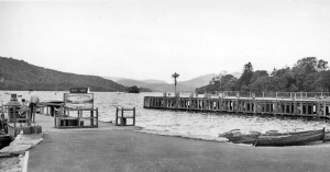 Bowness-on-Windermere landing-station in 1961