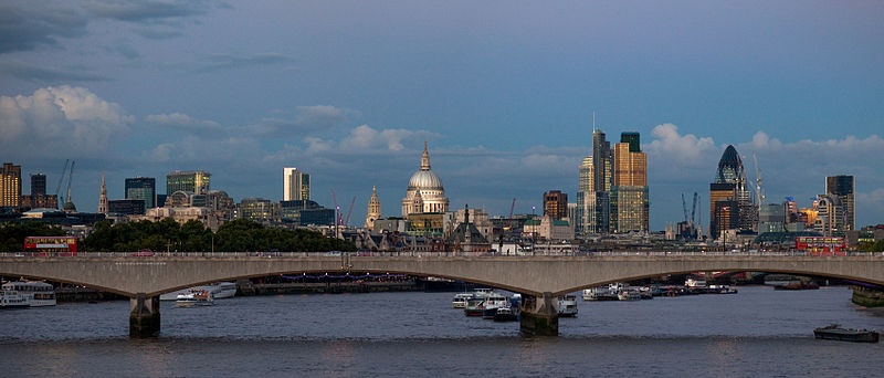 The City of London is the largest financial centre in the world