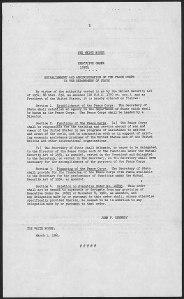 Executive Order 10924