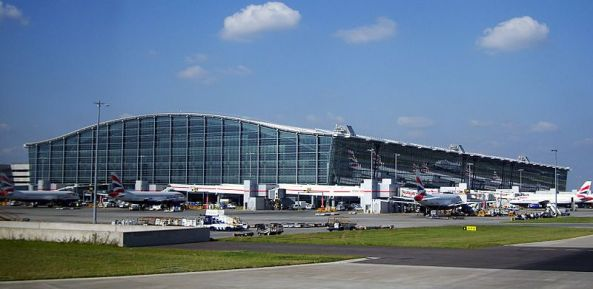 Heathrow (Terminal 5 pictured) is the busiest airport in the world for international traffic