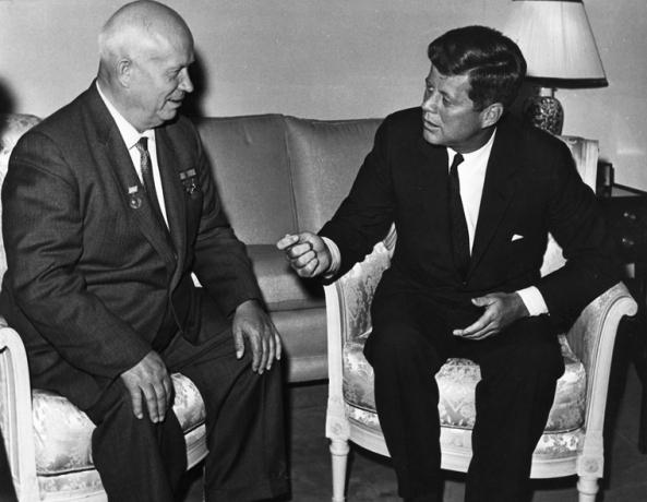 Meeting Nikita Khrushchev in 1961