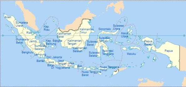 PETA INDONESIA 1
