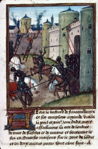 The Lancastrian siege of London in 1471 is attacked by a Yorkist sally.