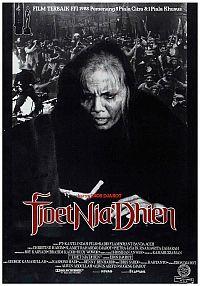 Poster film Tjoet Nja' Dhien (1988), film tentang pahlawan nasional Indonesia asal Aceh.