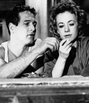 In The Hustler with Piper Laurie
