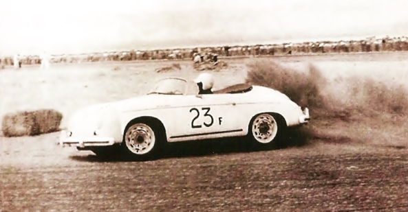 James_Dean_and_Porsche_Speedster_23F_at_Palm_Springs_Races_March,_1955