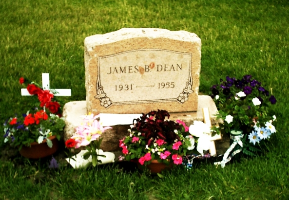 James Dean Park Cemetery Fairmont