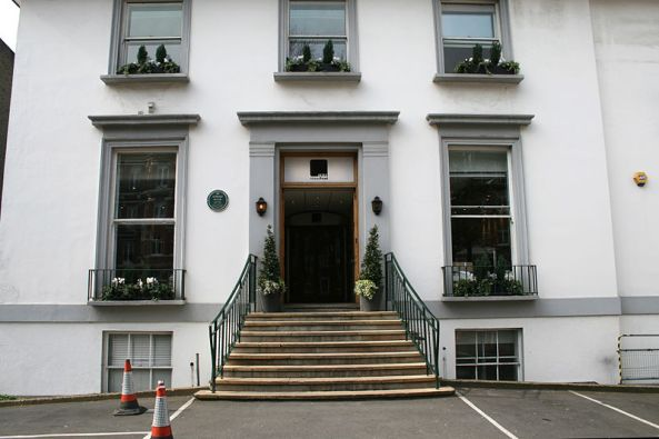 Abbey Road Studios main entrance
