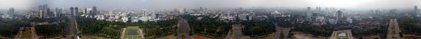 Panorama of Jakarta