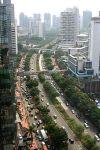 Jalan Jenderal Sudirman, Jakarta's main avenue and business district.