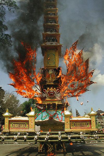 Cremation in Ubud