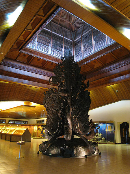 The Kalpataru Tree Hall in the Indonesia Museum, Taman Mini Indonesia Indah.
