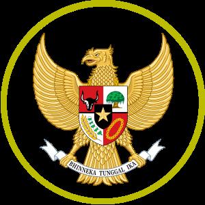 Lambang Garuda juga digunakan di jersey Tim Nasional Sepak Bola Indonesia