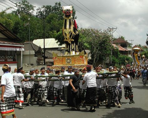 A religious procession