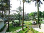 Spherical cage Bird Park in Taman Mini Indonesia Indah.