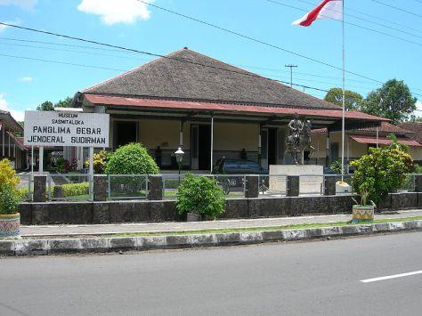 Museum Sasmitaloka Panglima Besar Jenderal Soedirman.