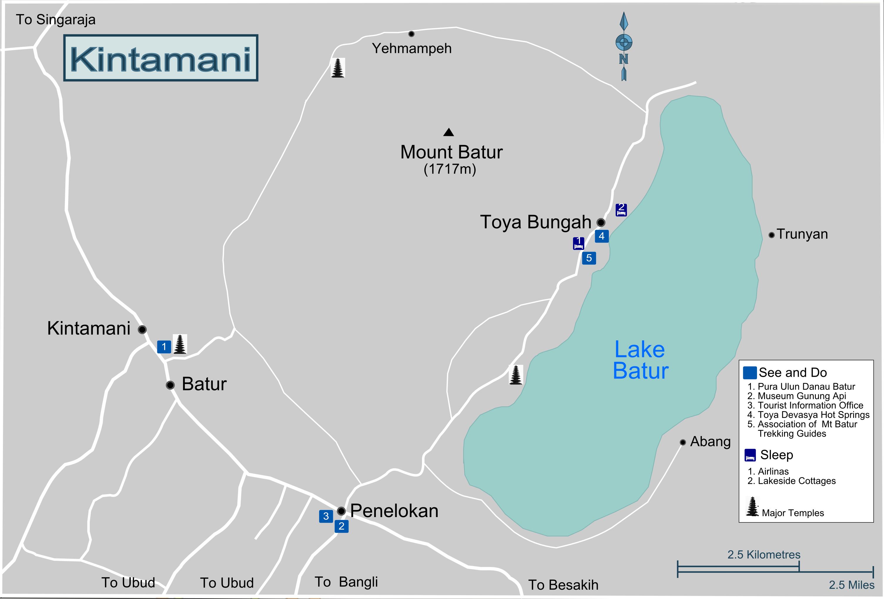 Bali-Kintamani-Map