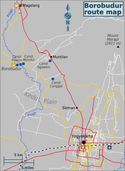 Borobudur_route_map
