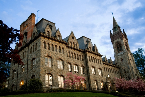The University Center on the campus of Lehigh University.