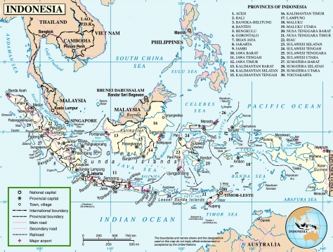 indonesia-road-map