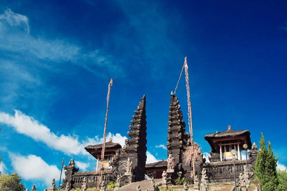 The Mother Temple of Besakih, one of Bali's most significant Hindu temples.