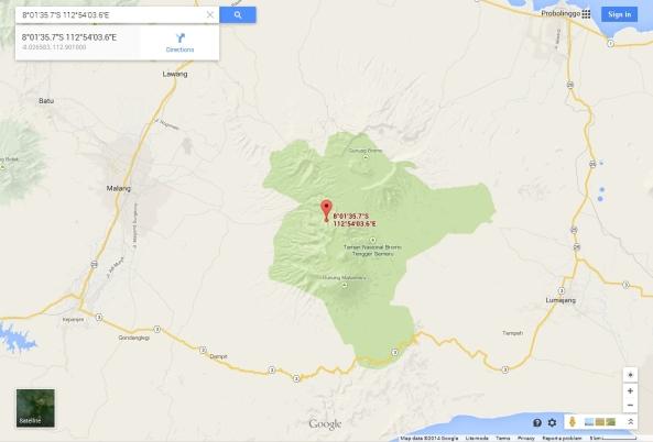 Taman Nasional Bromo Tengger Semeru, Indonesia