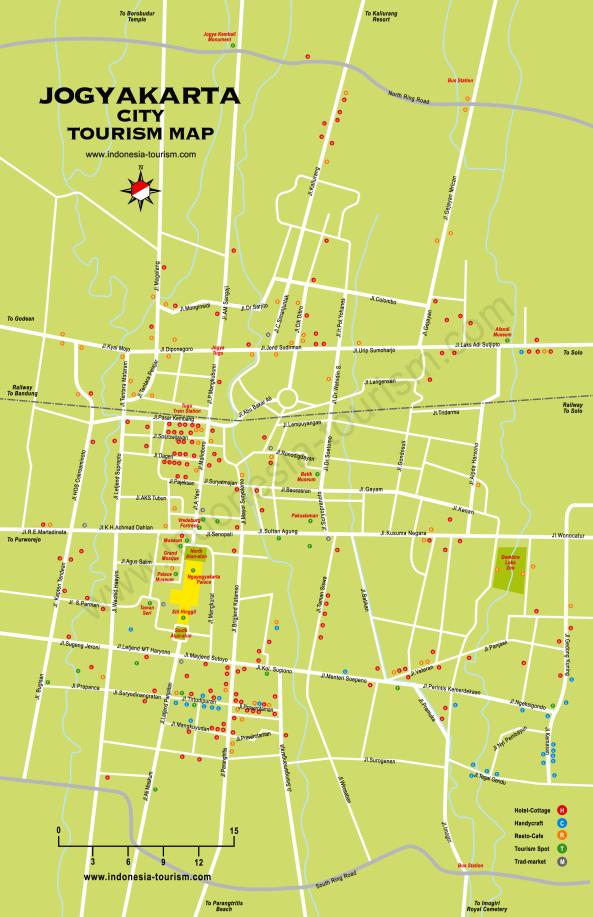Yogyakarta Street Map