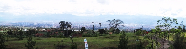 Bandung view From the peak