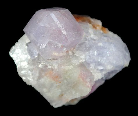 Hackmanite dodecahedron from the Koksha Valley, Afghanistan
