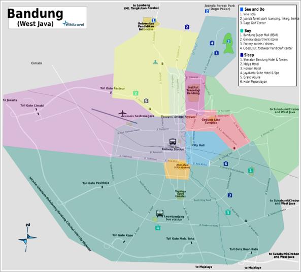 Bandung Districts