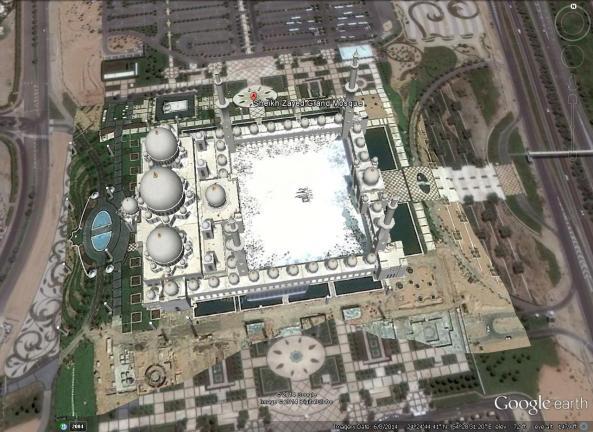 Sheikh Zayed Mosque 3D
