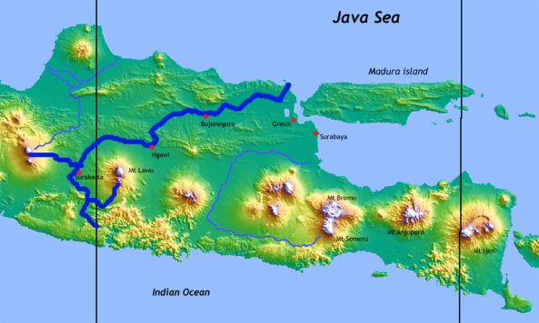 bengawan_solo_topography_map