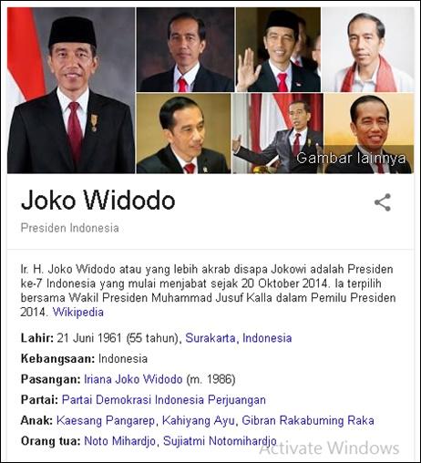 JOKOWI DATA