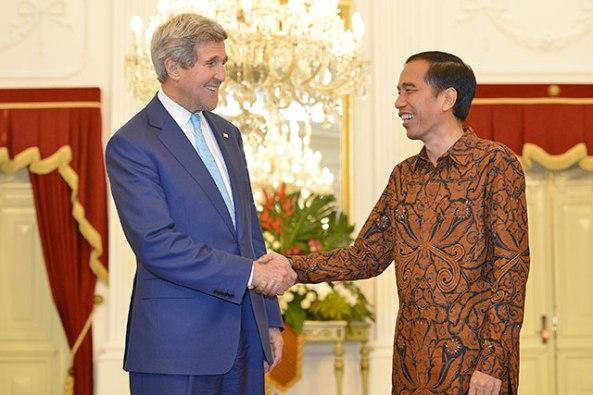 Jokowi-Kerry