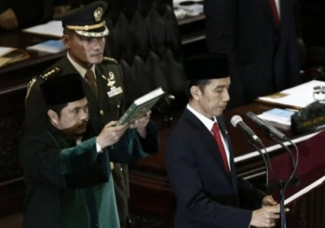 JokowiPresidentialOath