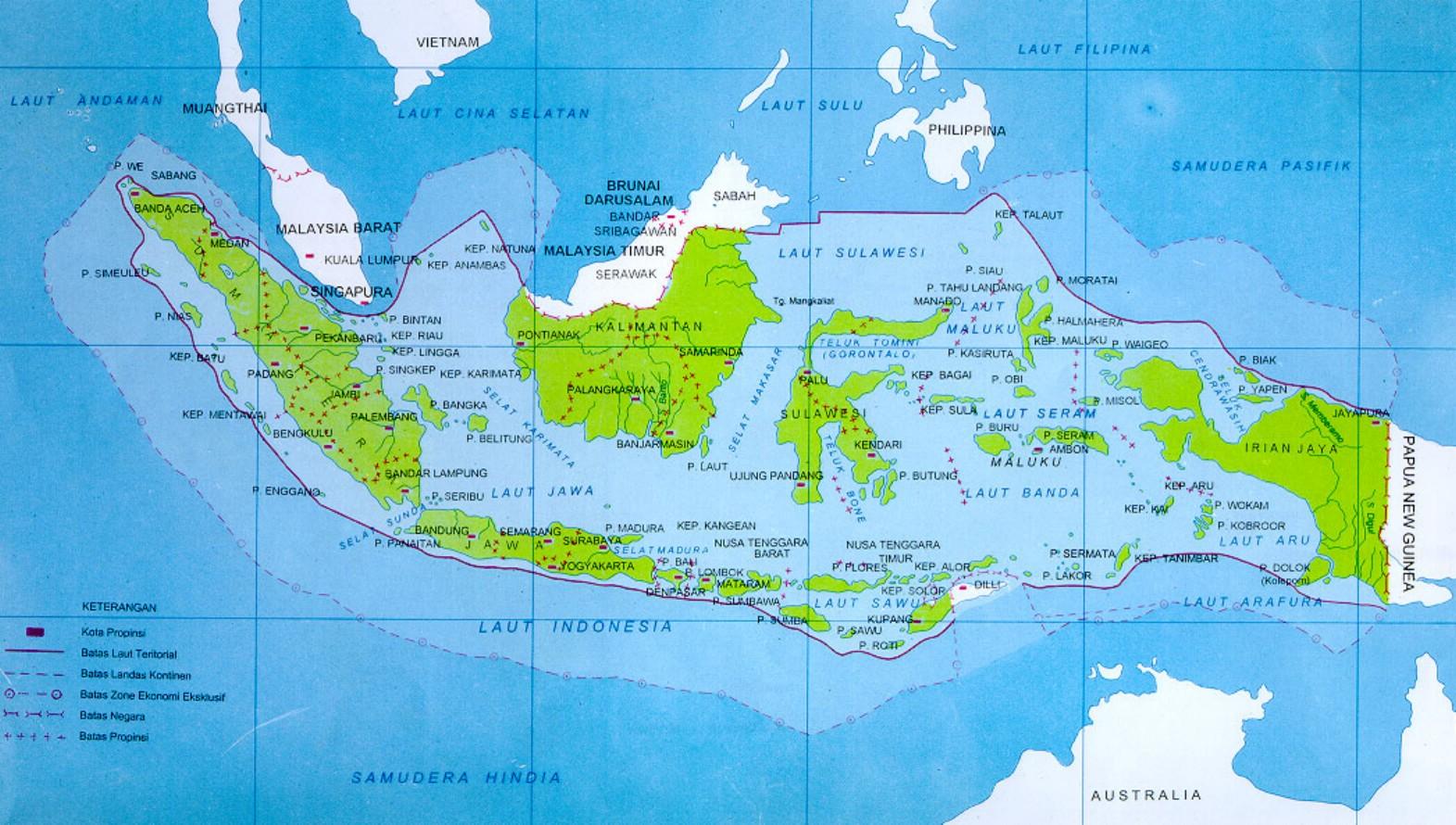 PETA INDONESIA 02