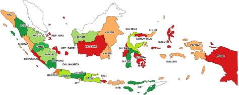 PETA INDONESIA 03