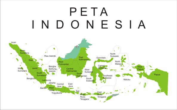 PETA INDONESIA 05
