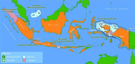 PETA INDONESIA 07